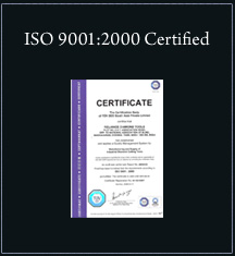 ISO - Certified Company